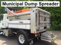Municipal Dump Spreader demonstration presented by Tri-State Equipment Rebuilding ,Inc. located in Oxford,CT.