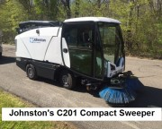 Johnston C201 Compact Sweepers